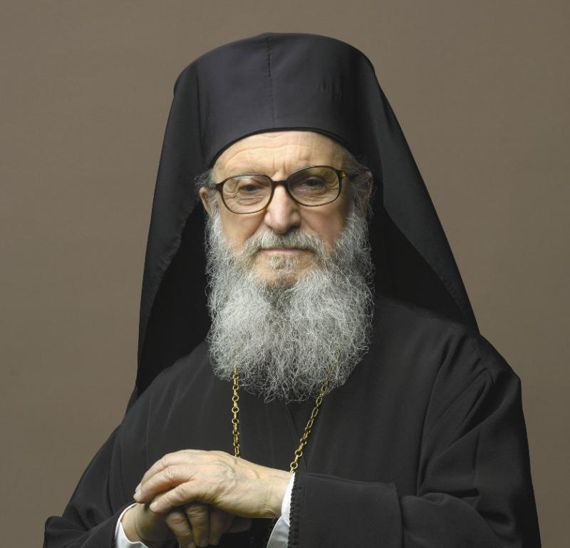 Archbishop Demetrios, head of the Greek Orthodox church in the United States