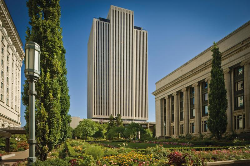 LDS church offices in Salt Lake City