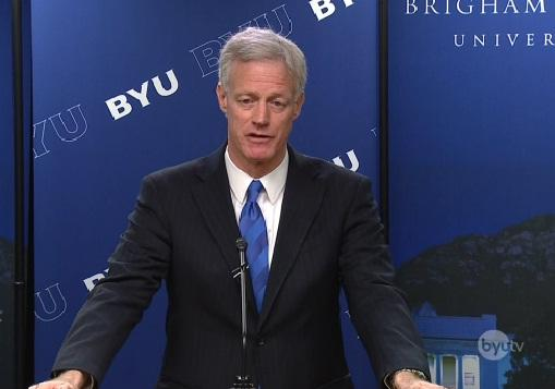 Kevin J. Worthen will become president of Brigham Young University May 1st.