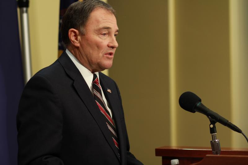 File: Gov. Gary Herbert announces his Healthy Utah plan