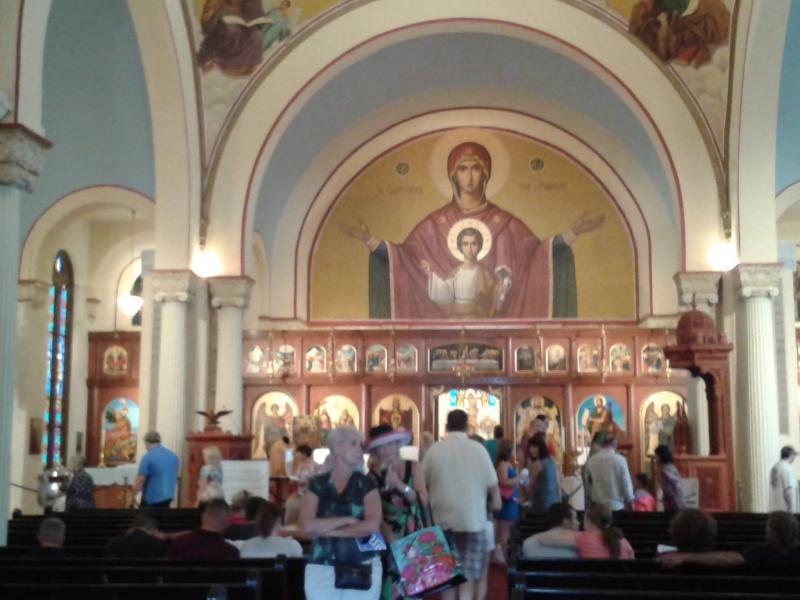 Interior of Holy Trinity Greek Orthodox Cathedral, Salt Lake City