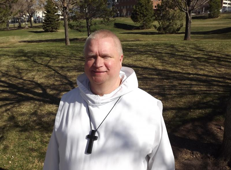 Brother Jim Dowd of Holy Cross Monastery