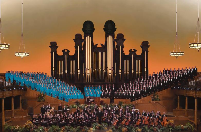 The Mormon Tabernacle Choir with the Orchestra at Temple Square