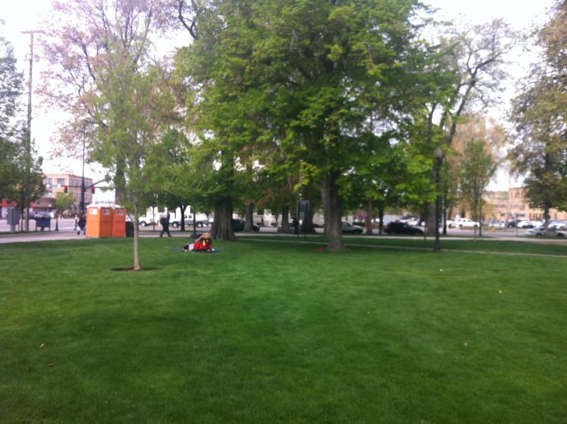 Pioneer Park.