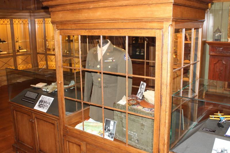 An exhibit of personal memorabilia from Elder Boyd K. Packer of the Church of Jesus Christ of Latter-day Saints is housed in a dedicated gallery at the Monte L. Bean Life Science Museum at Brigham Young University