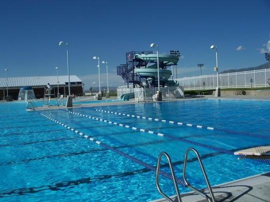 The Tooele County pool at the Deseret Peak Complex was closed in 2013 due to budget shortfalls, but will be reopened in 2014 as the EnergySolutions Aquatic Center.