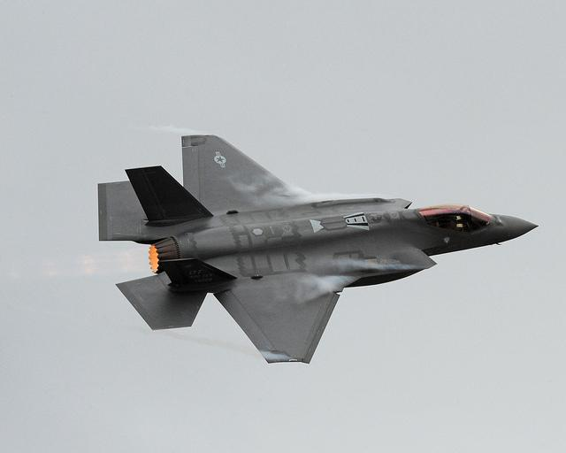 File: The First F-35 Arrives at Hill Air Force Base