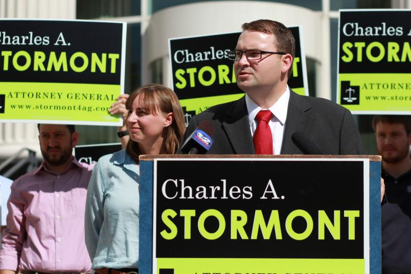 Democratic Attorney General Candidate Charles Stormont