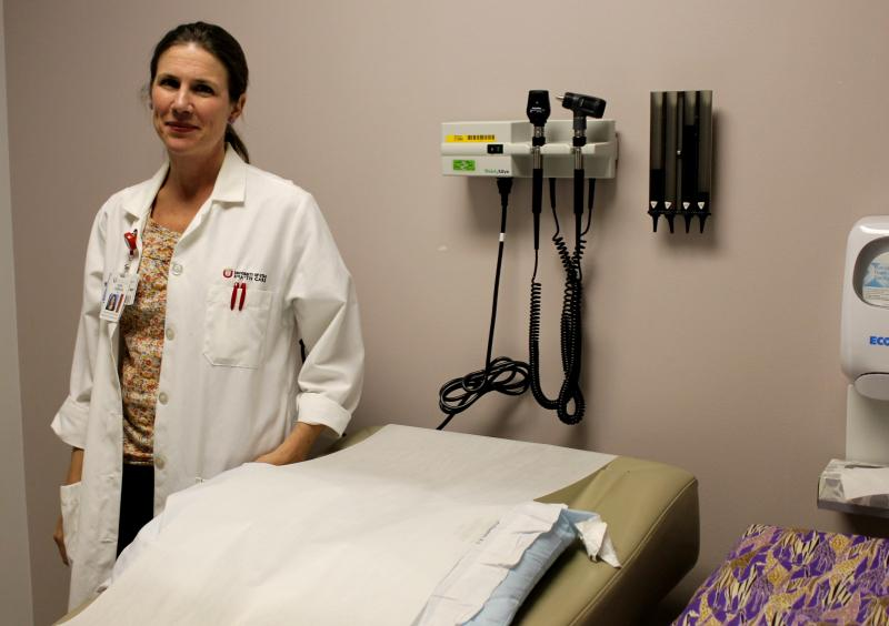 Keri Gibson, co-researcher and attending physician at University of Utah Redwood Health Center Obstetrics and Gynecology