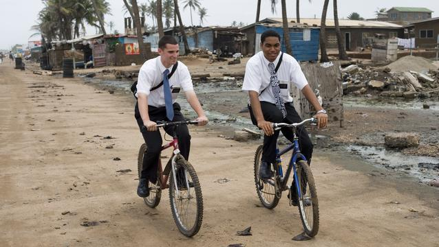 LDS Missionaries in Ghana, West Africa