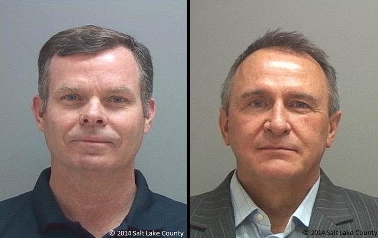 Former Utah Attorneys General John Swallow (L) and Mark Shurtleff (R)