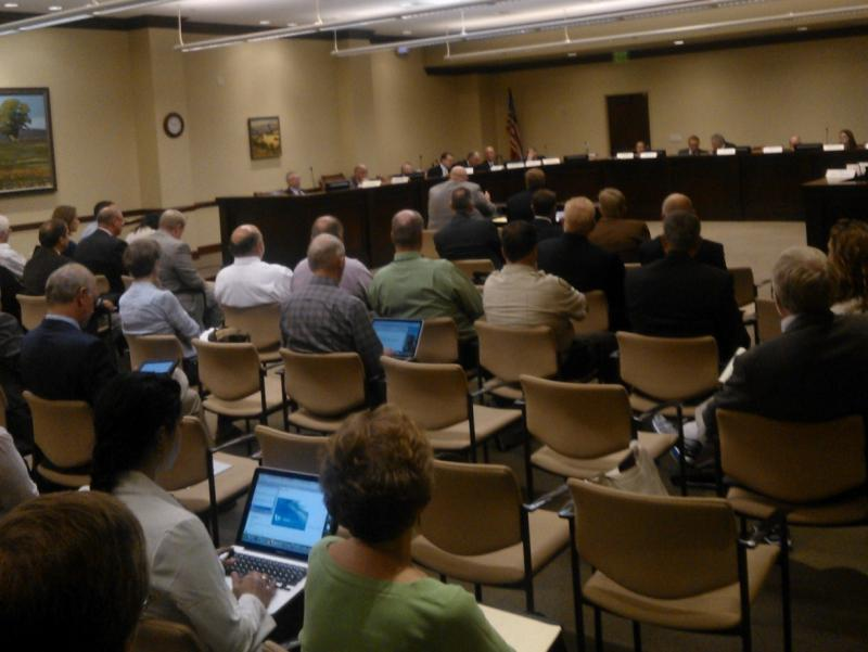 The Utah legislature's interim Natural Resources, Agriculture and Environment committee meets at the Utah State Capitol