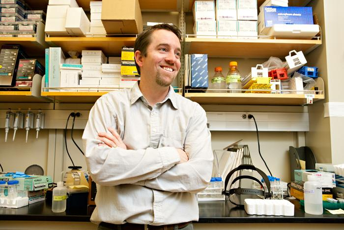 University of Utah biochemistry professor Jared Rutter