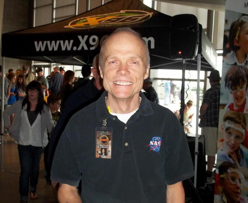 Patrick Wiggins, NASA's Solar System Ambassador in Utah