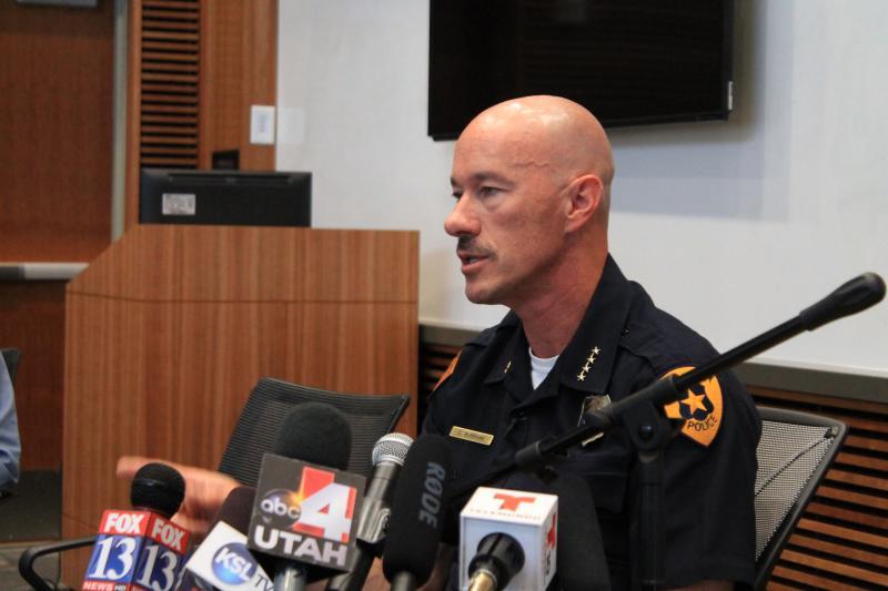 Salt Lake City Police Chief Chris Burbank