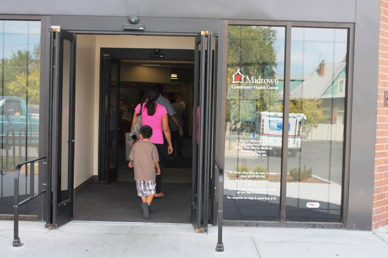 Midtown Community Health Center of Ogden serves many uninsured patients on a sliding scale.