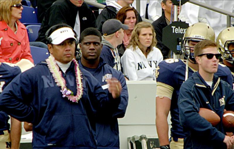 U.S. Naval Academy football coach Ken Niumatololo is one of the Latter-day Saints featured in the new documentary Meet the Mormons