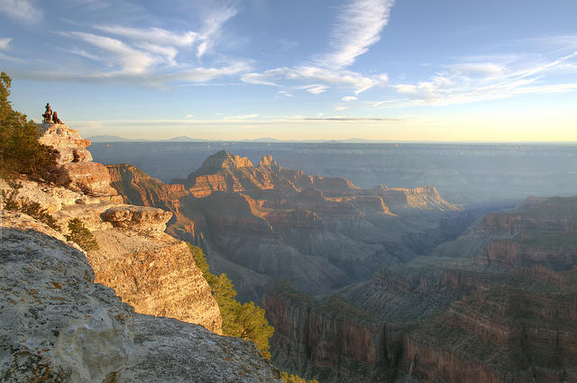 A view of Grand Canyon National Park from Sunset Point. Regulators around the country began working more than a decade ago on strategies to clean up pollution in pritine airsheds, like those at remote national parks.