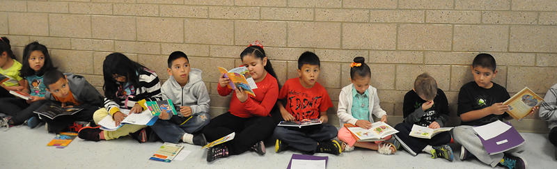 Students at one of five United Way Community Schools