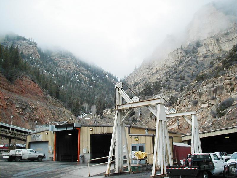 The Deer Creek coal mine near Huntington, Utah