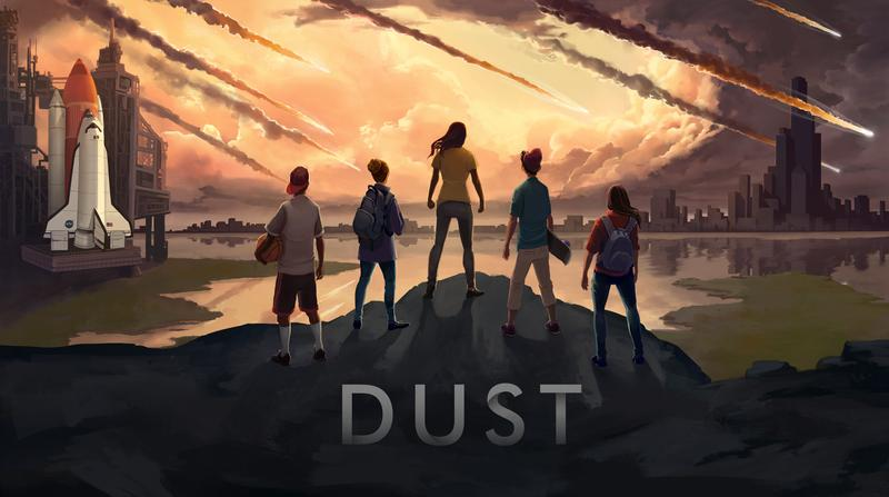 "A promotional image for the game ""Dust"""