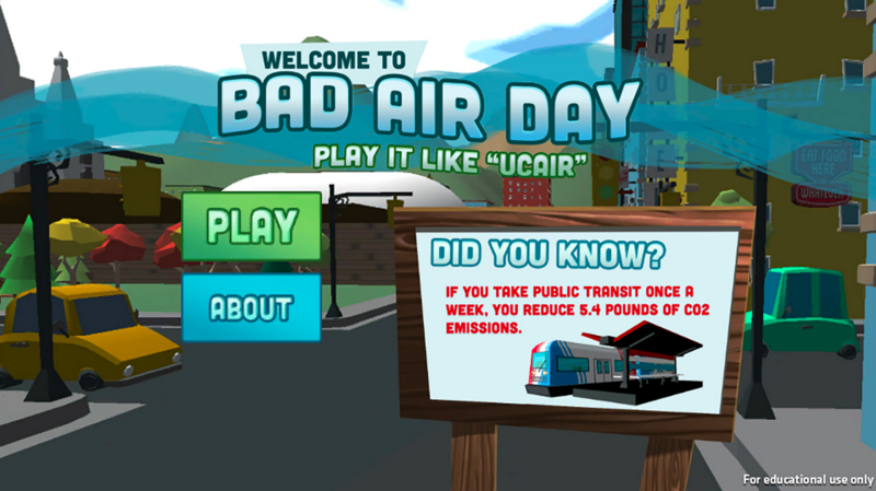 Bad Air Day is a video game