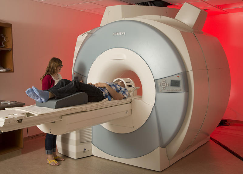 New MRI Lab at Brigham Young University. It has been used for studying frontal cortex activity in fasting adolescents when they are showed images of high- calorie foods. It's the region of the brain used for executive function control.