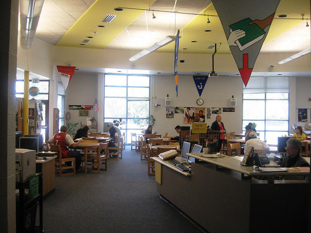 Granite Peaks High School Media Library