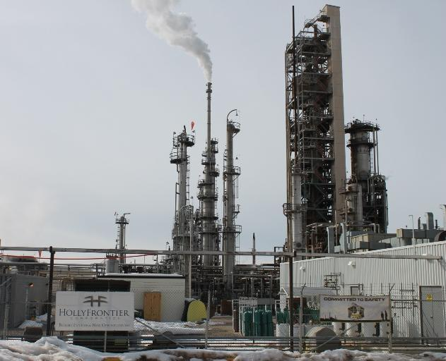 The Holly-Frontier refinery in Woods Cross, Utah