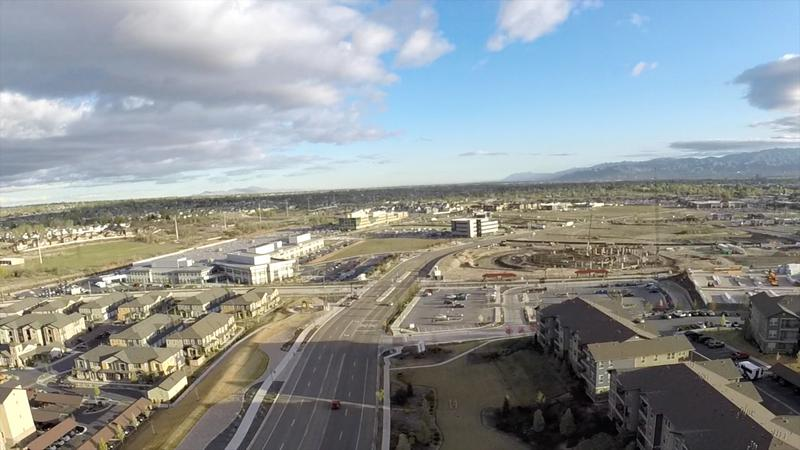 Aerial View of the redeveloped Midvale Superfund Site