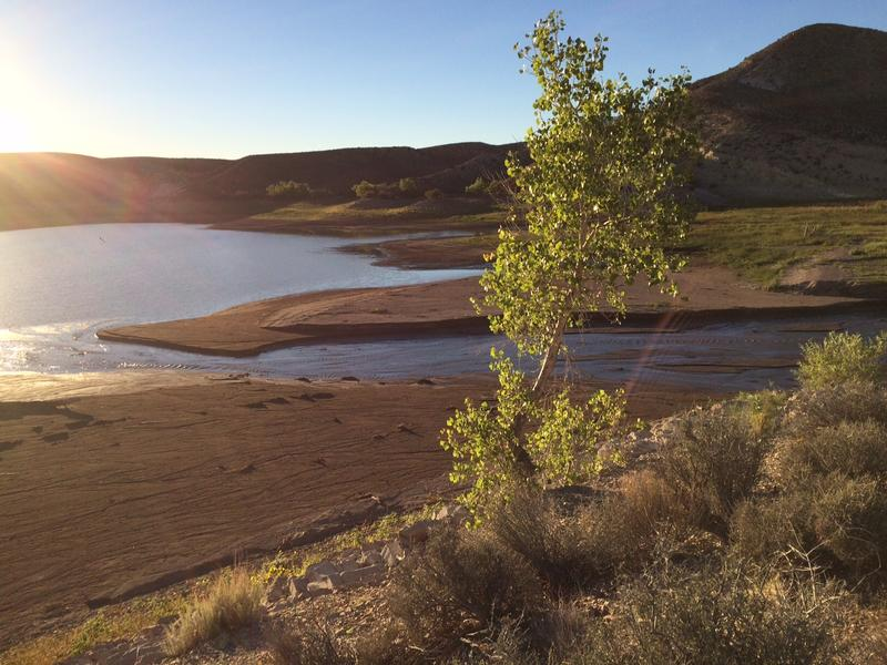 Gunlock Reservoir is also a part of the Washington County Water Conservancy District's water strategy. Like so many other storage sites throughout the state, it has been low because of the continuing drought.