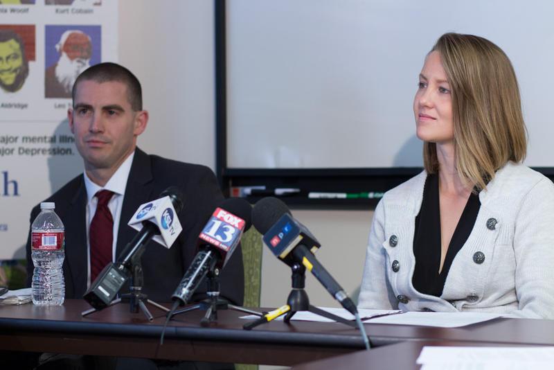 NAMI-Utah Executive Director Jamie Justice