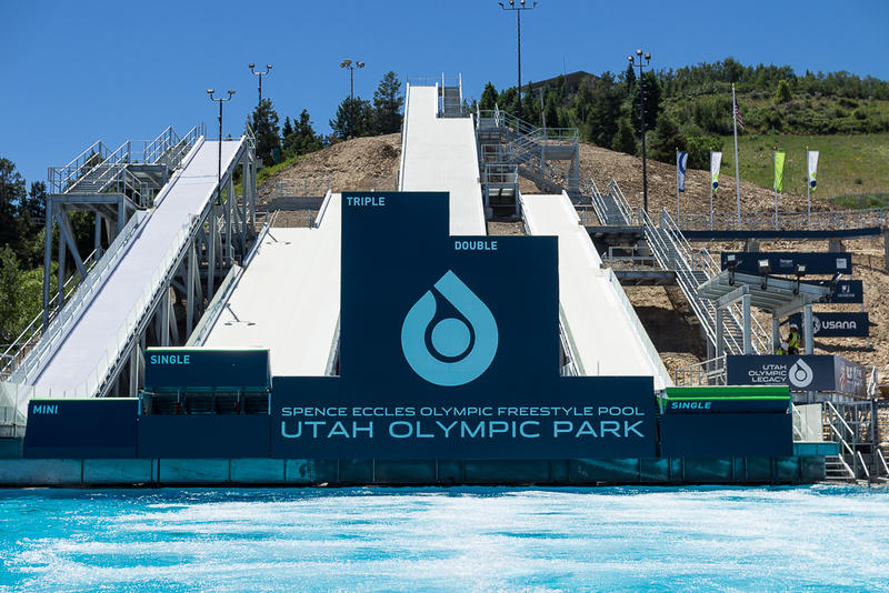 Utah Olympic Park Opens Renovated Freestyle Training Pool