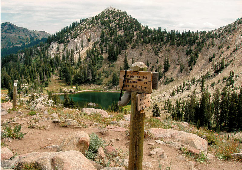 The agreement approved Monday not only takes into account recreation values like hiking an backcountry skiing that might take place on the Great Western Trail shown here, it also strives to limit ski resort expansion and to protect water resources.