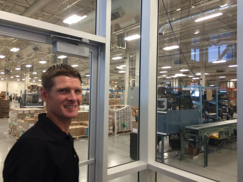 Cameron Faddis is facilities director for Basic Research, which has streamlined its processes so well, it pays nothing for the energy to run its 250,000-square-foot facility.
