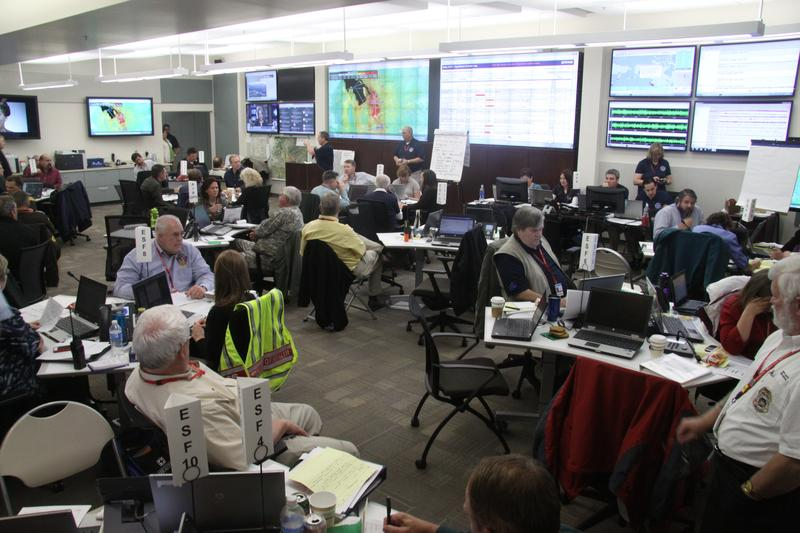 The Utah Division of Emergency Management operates a command center tucked below the state Capitol building that would be used to coordinate the state's response to earthquakes and other large-scale disasters.