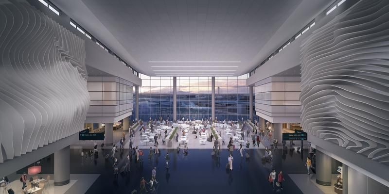 Salt Lake City Airport Unveils First Detailed Images Of New Terminal Design Kuer 90 1