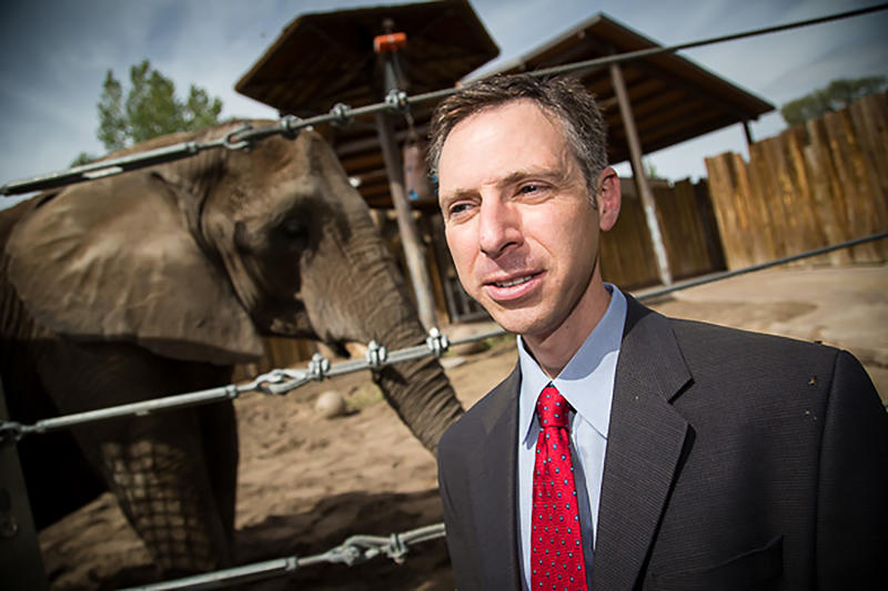 Joshua Schiffman, a pediatric oncologist at the Huntsman Cancer Institute at the University of Utah, has led a study that could explain why elephants rarely get cancer.