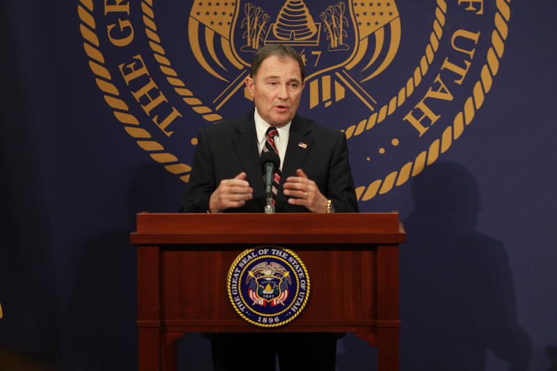 File: Utah Governor Gary Herbert