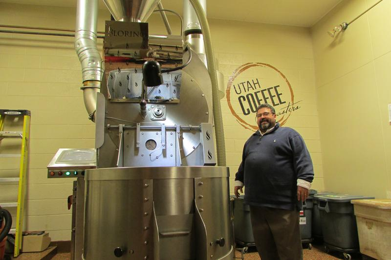 Dave Brog's new roaster cuts polluting emissions by 95 percent. Brog made the move even though regulators weren't requiring it.