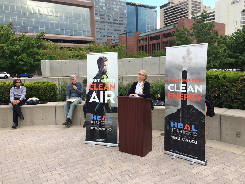 Lindsay Beebe, head of the Beyond Coal Campaign for the Sierra Club in Utah, wants the Herbert administration to shift focus to renewable energy and the Obama administration's Clean Power Plan.