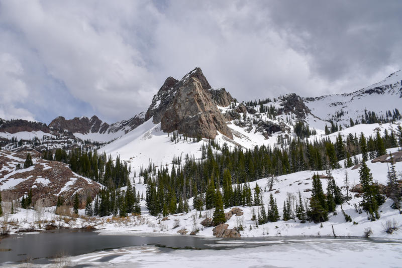University of Utah researchers were able to take a closer look at how warming will affect Utah's snowpack. Sundial Peak in the Wasatch Mountains is expected to be high enough at nearly 10,000 feet elevation to escape key impacts.
