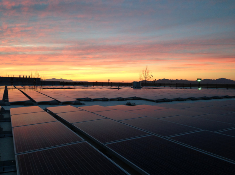 The Basic Research headquarters and manufacturing plant near the Salt Lake International Airport has 4,700 solar panels that generate 1.4 megawatts of emissions-free energy. Highlighting innovations like these is part of a broader clean-energy strategy.