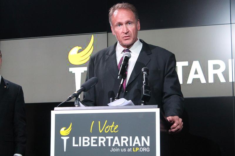 Utah State Senator Mark Madsen announces he has left the Republican Party.