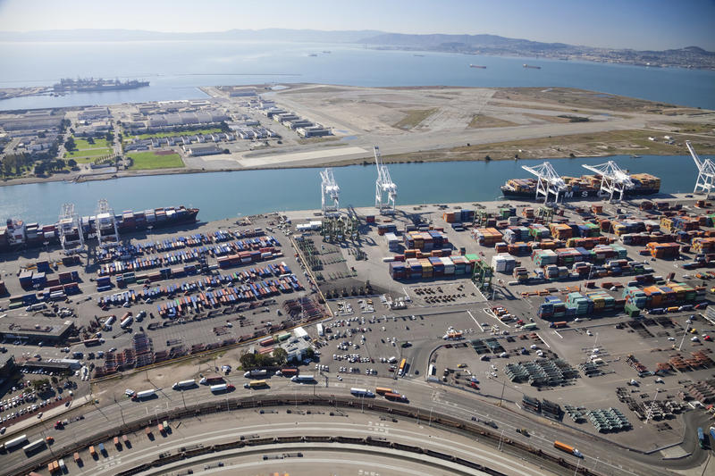 Some Utah officials want to invest $53 million of impact-mitigation funds on expansion of a deepwater port in California, but the Oakland City Council has voted to block coal handling within the city.