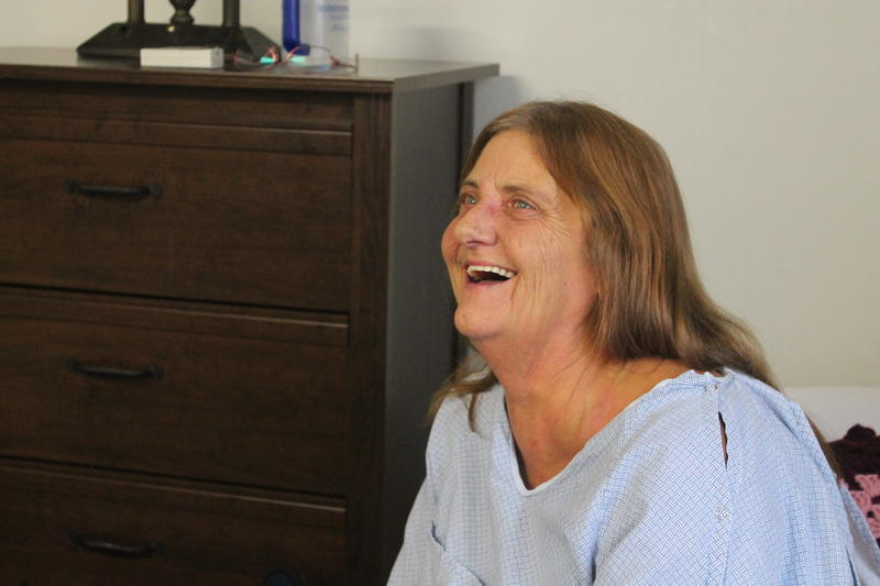 New resident Anita Lasich settles in at The INN Between after finding out she has terminal cancer.
