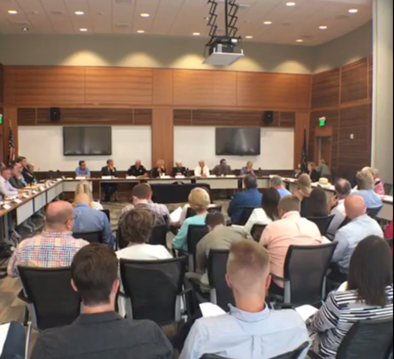 Homeless Services Site Evaluation Commission met Tuesday, August 23rd.