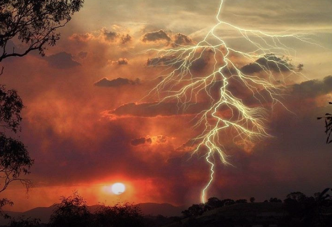Lightning strikes account for most of the wildfires in Utah, and with lightning expected to increase with the monsoons there might be more wildfire.