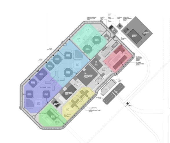 Potential rendering of the new state prison, which is expected to be completed by 2020.