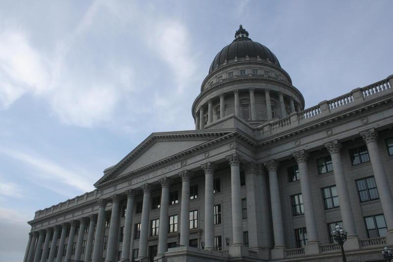 Utah's capitol building.